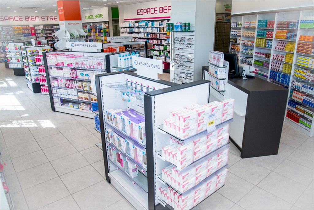 Am nager sa pharmacie pour booster ses ventes for Agencement pharmacie meuble