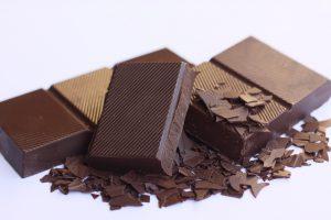 carreaux de chocolat