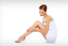 épilation des jambes